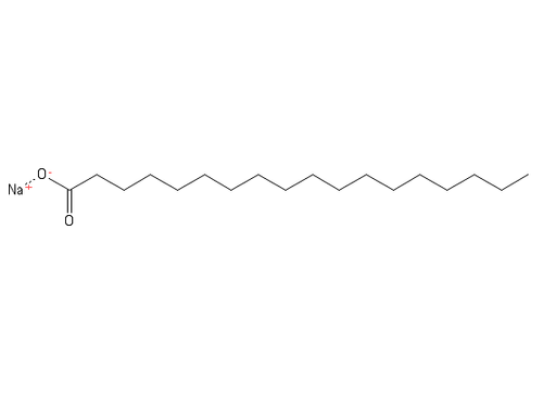 """Sodium Stearate;""""CAS #= 822-16-2"""";Grade=NF,EP, Kosher"""
