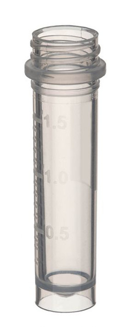 SuperClear 2.0ml Freestanding Screw Cap Tubes, Sterile (CS/5000)