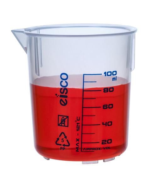100ml Polypropylene Beaker - (CS/12)