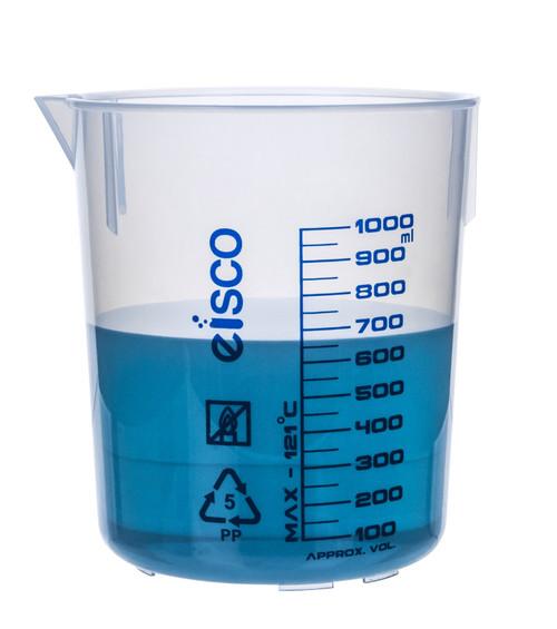 1000ml Polypropylene Beaker - (CS/12)
