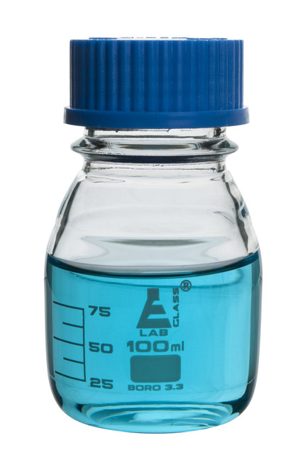 100ml Bottle Reagent Graduated - (CS/12)