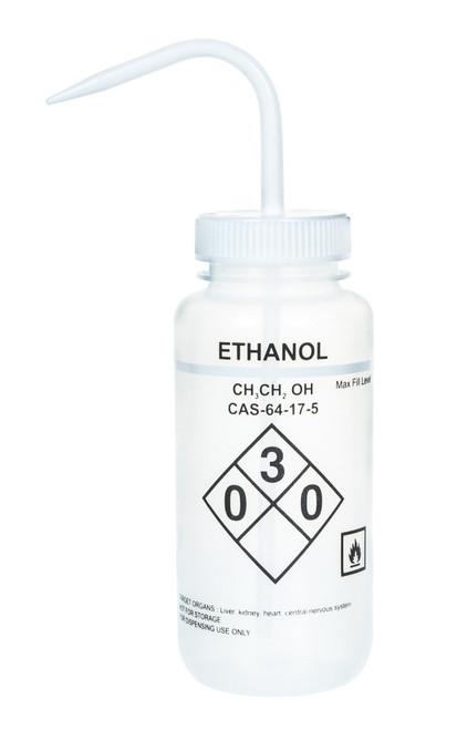 1000ml Labelled Wash Bottle - Ehtanol - (CS/4)