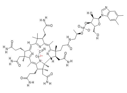 "Cyanocobalamin (Vitamin B-12);""CAS #=68-19-9"";Grade=USP"