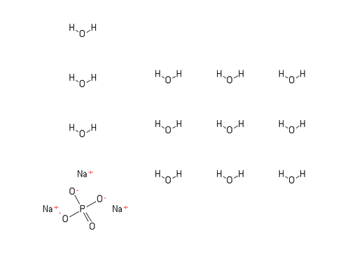 """Trisodium Phosphate Dodecahydrate;""""CAS #=10101-89-0"""""""