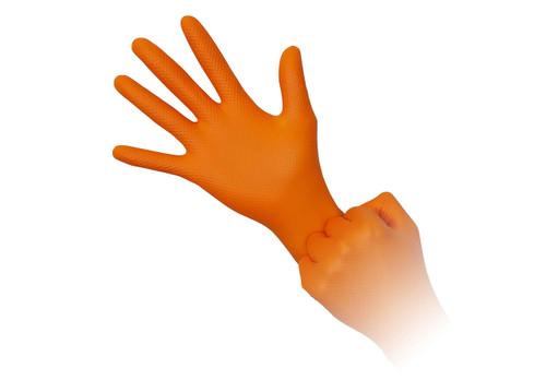 Aurelia Ignite Orange Nitrile Exam Glove (Case)
