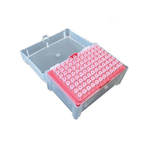 0.1-10ul MicroPette Universal Sterile Filtered Tips, Clear Color, Rack