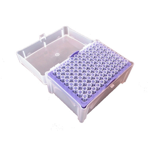 Scilogex 2-200ul MicroPette Universal Sterile Tips, Clear Color, Rack