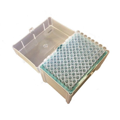 Scilogex 100-1000ul MicroPette Universal Sterile Filtered Tips, Clear Color, Rack 8 x 96