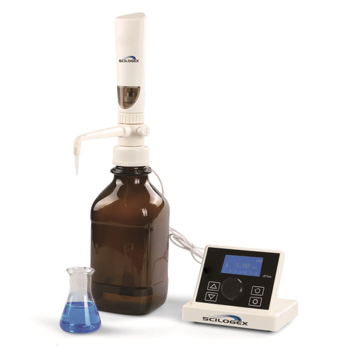 iFlow Motorized LCD Digital Bottle Top Dispenser, 0.1-99.9ml, 110-240V, 50/60Hz
