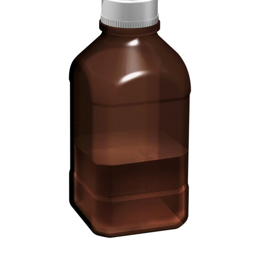 2.5Lltr Amber Autoclavable Bottle, 45mm thread