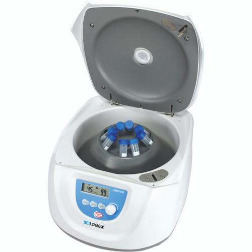 DM0412 LCD Digital Clinical Centrifuge, Capacity 8 x 15ml / 12 x 10ml/7ml/5ml Vacutainer, 110-220V, 50/60Hz