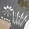 16 Piece Deco Curve Cutlery Set