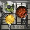 Go Healthy Marble 3 Piece Saucepan Set, 16/18/20 cm