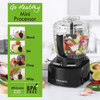Compact Prep Pro Food Processor, 8 in 1 Function, 1 Litre Capacity