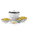 Rice Cooker With Removable Non-Stick Bowl & Tempered Glass Lid, 1 Litre