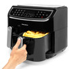 Twin Cook Air Fryer with 12 Cooking Functions, 2 Cooking Compartments, 8.2 Litre Capacity