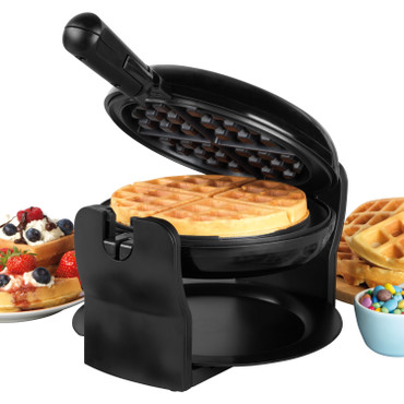 Rotary Non-Stick Waffle Maker