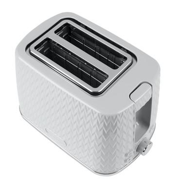 Chevron 2-Slice Toaster, Grey