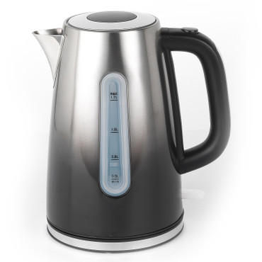Ombre Stainless Steel Kettle, 1.7 L, Black