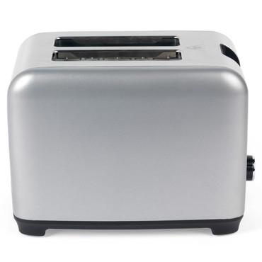 Shimmer 2-Slice Toaster, Silver/Black