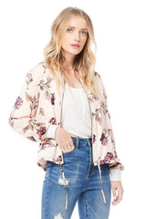 Solitaire Bomber {Sand Floral}