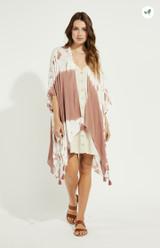 Heron Kimono {Mauve Dye}
