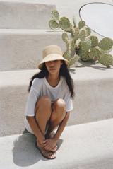Inca Straw Bucket Hat {Natural}