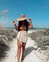 Palma Boater Hat {Straw}