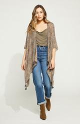 Ledger Kimono {Olive Micro}