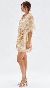 Esta Raglan Mini Dress {Floral}