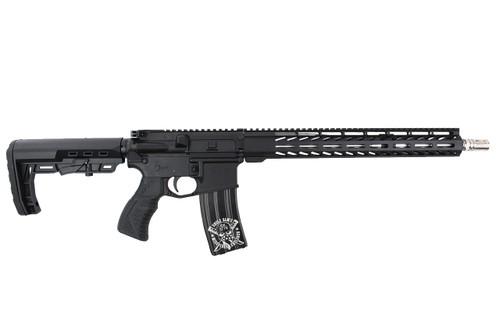 "'Basilone Series ' .223 Wylde 16"" Stainless Steel Match Grade Complete Rifle / 1:8 Twist / 15"" MLOK  Handguard"