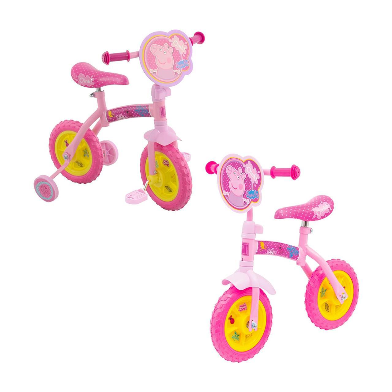 Peppa Pig 2-in-1 Training Bike