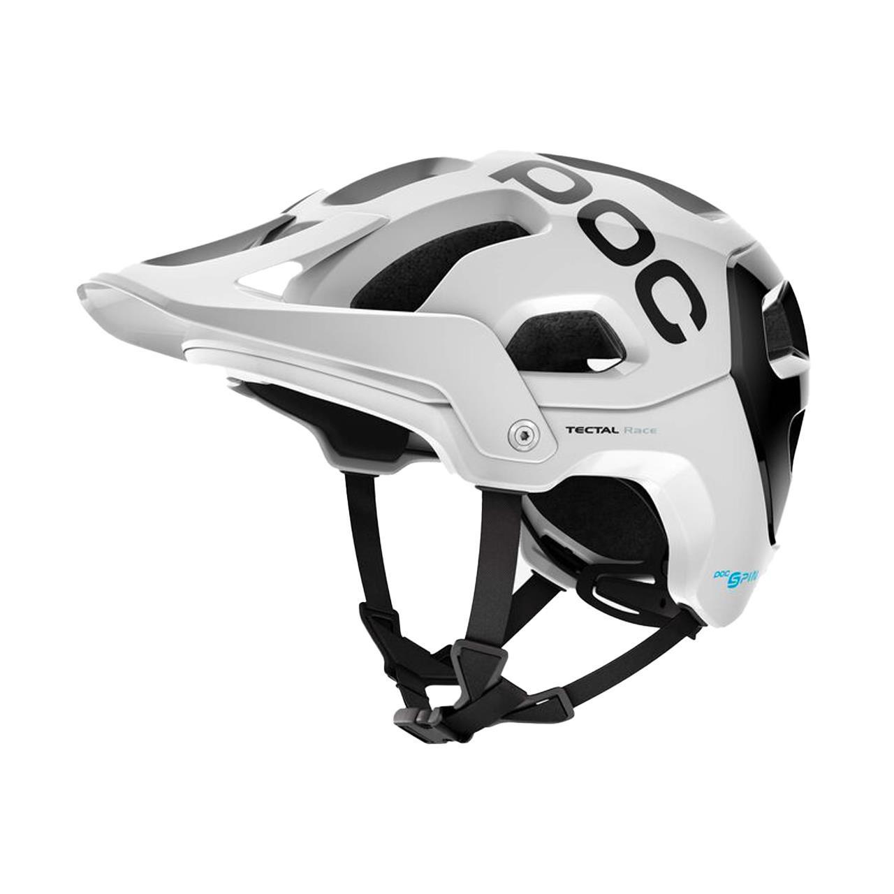 POC Unisex's Tectal Race Cycling Helmet - White/Uranium Black