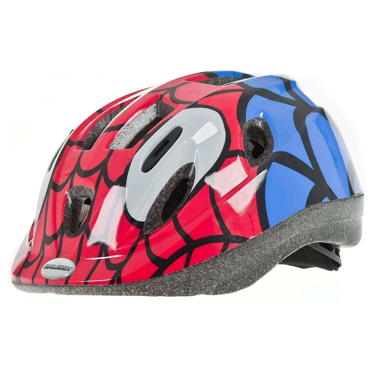 Raleigh Kids' Mystery Spiderman Cycle Helmet (52 - 56cm)