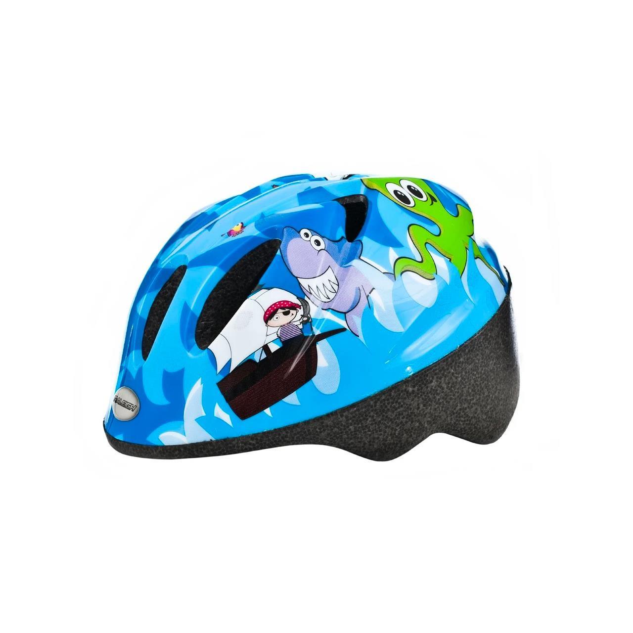Raleigh Rascal Kids' Blue Pirate Cycle Helmet