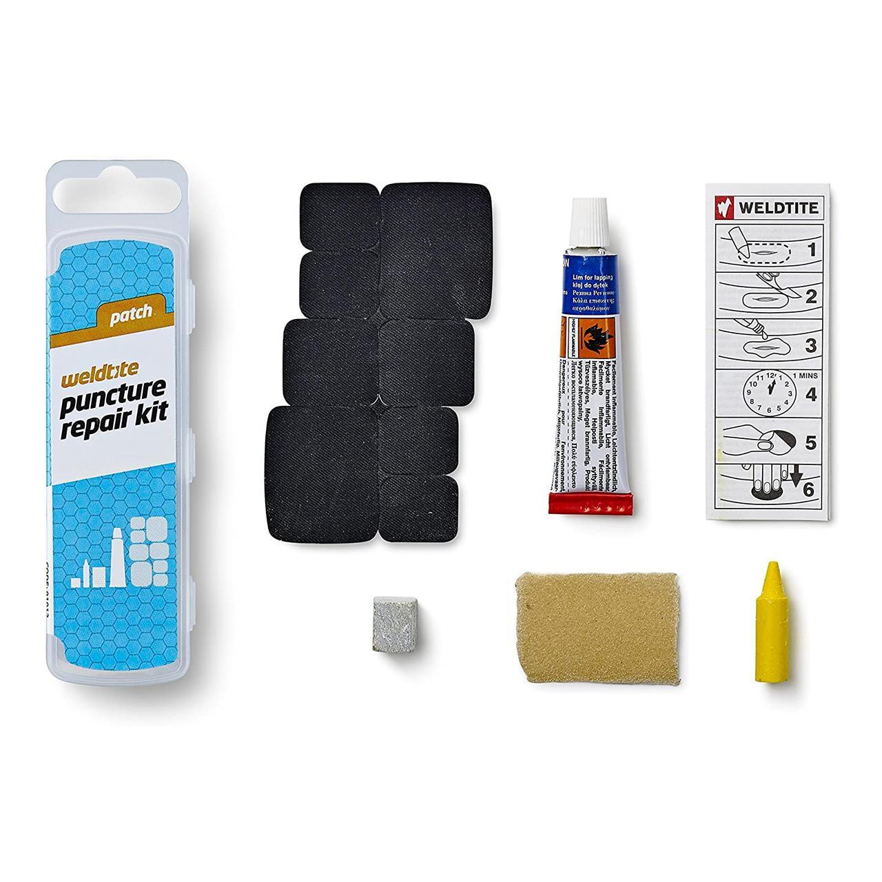 Weldtite Puncture Repair Kit (Black, One Size)