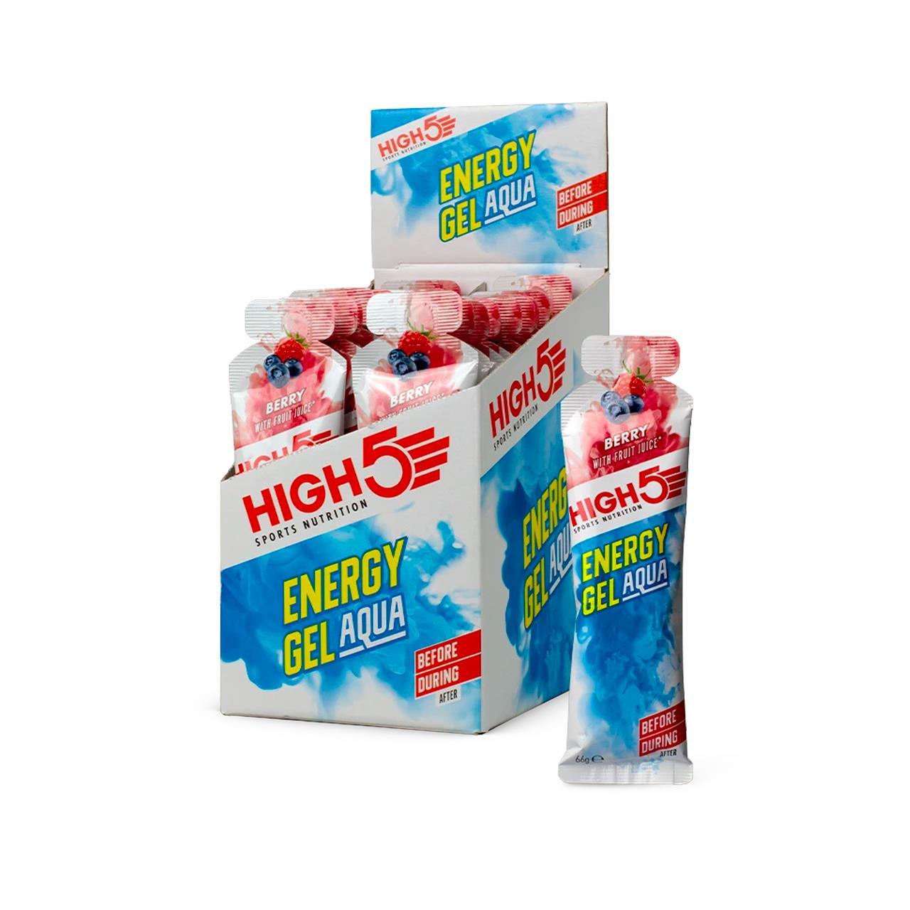 High5 Energy Gel Aqua, 20 Pack (Berry)