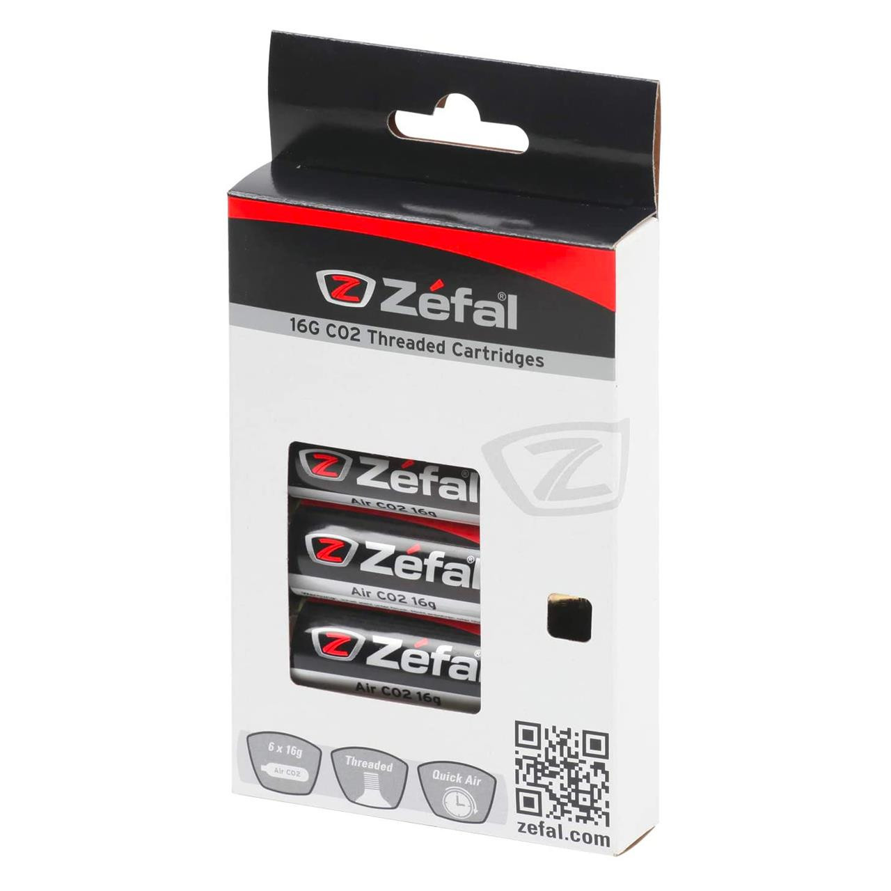 Zefal Co2 Cartridge (Pack of 6, Gold)