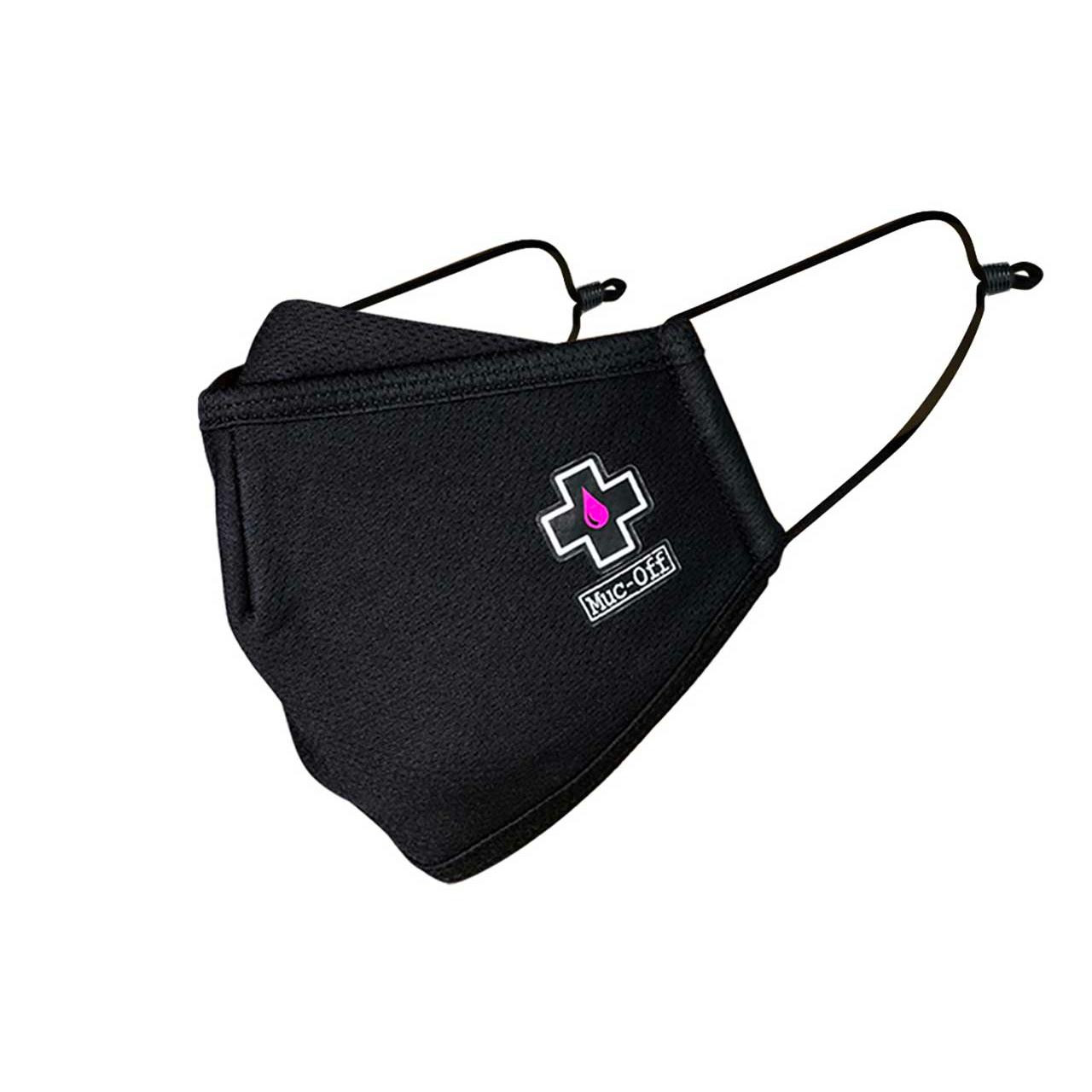 Muc-Off Reusable Face Mask (Black, Small)