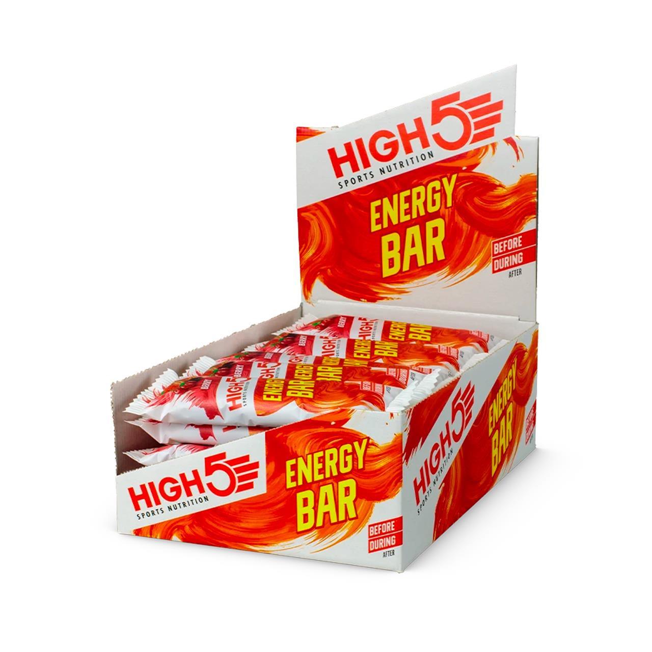 High 5 Energy Bar, 25 Pack (Berry)