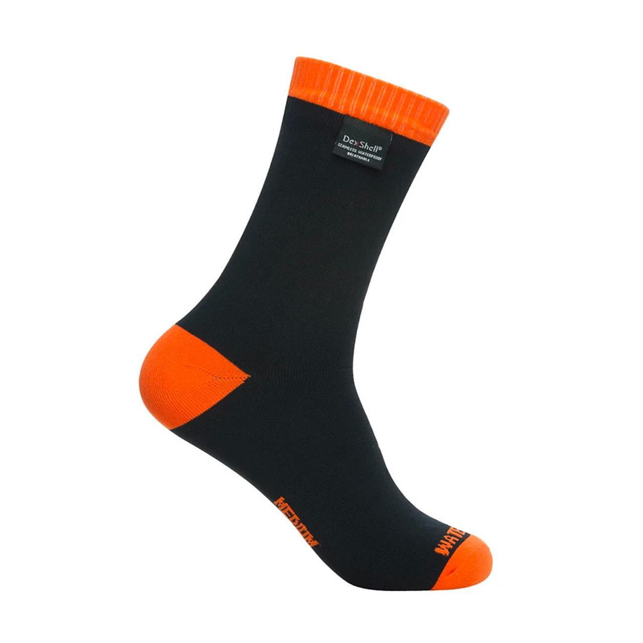 DexShell Thermlite Waterproof Socks (Tangelo Red, Small)