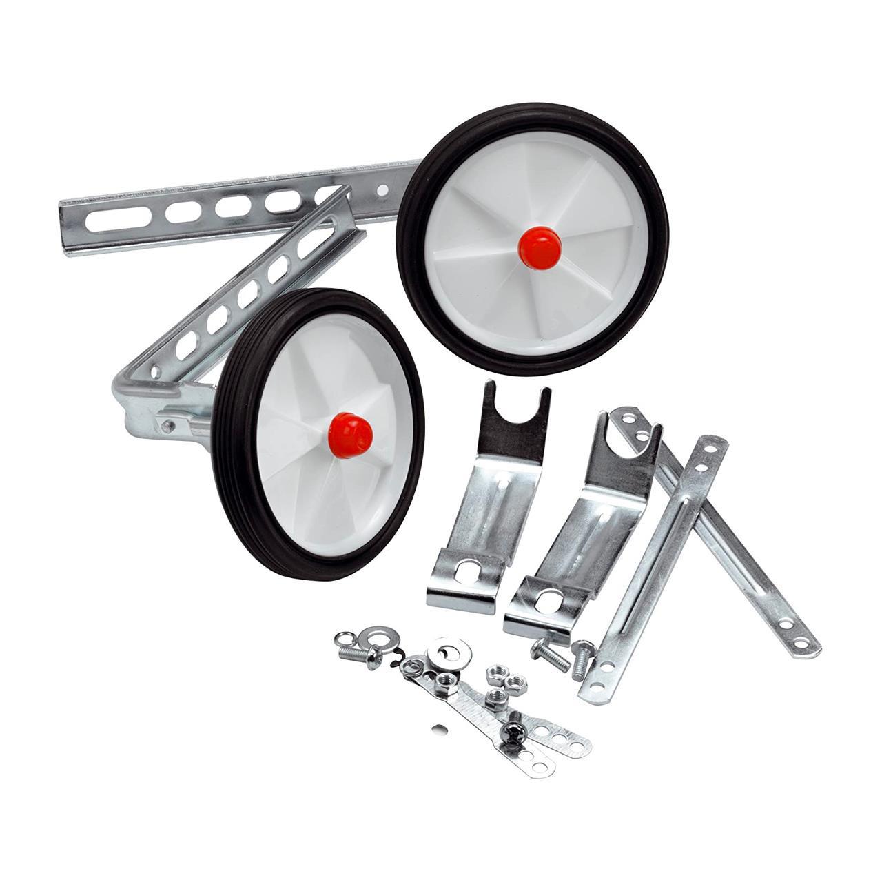 Raleigh Stabilisers (Silver, 12/16 Inch Wheel)