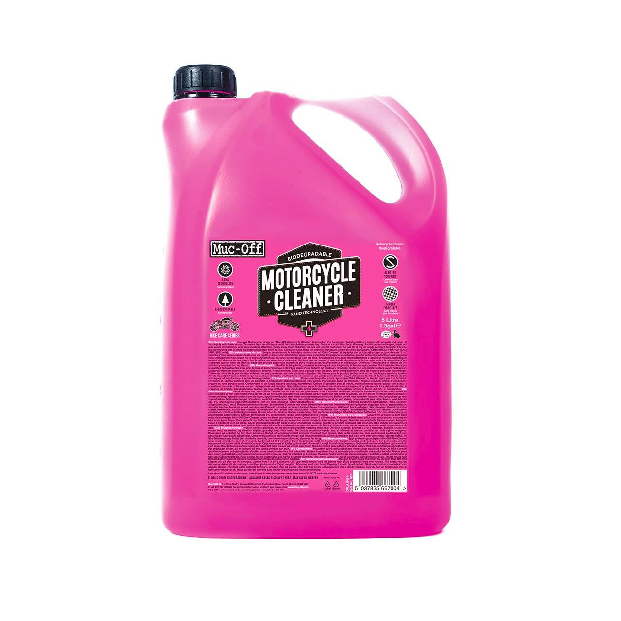 Muc-Off Nano Tech Motorcycle Cleaner (5L)