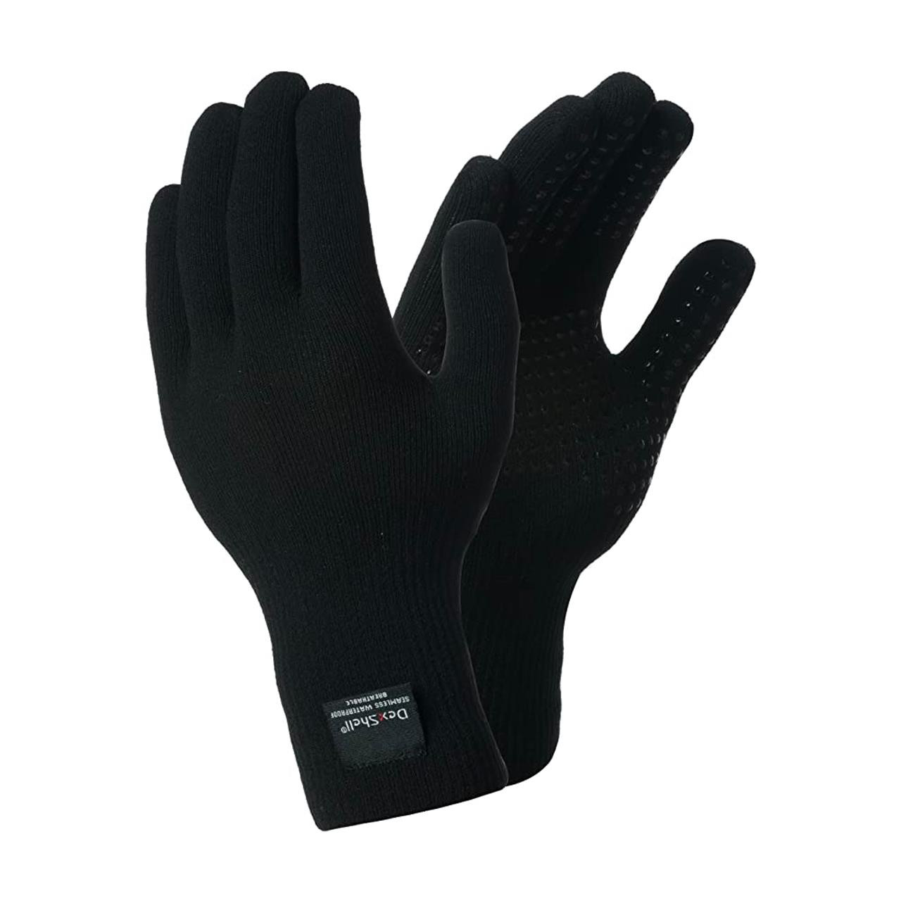 Dexshell Touchfit Waterproof Breathable Gloves (Black, Last Generation)