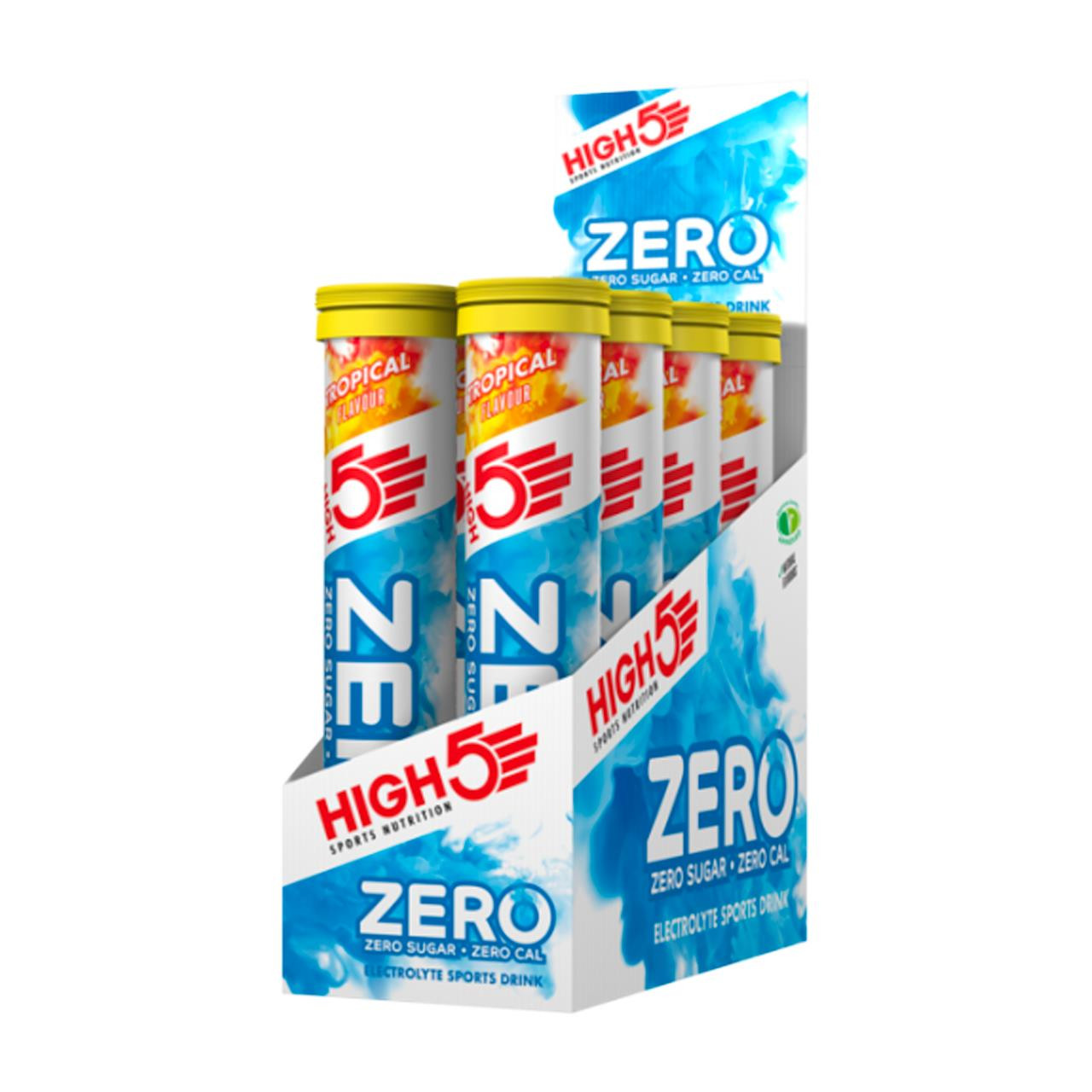 High5 Zero Tablets, 8 Pack (Tropical)