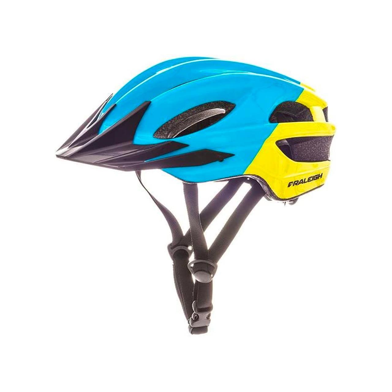 Raleigh Kids' K.O.M. Segment Helmet (Multi-Colour, 48-55 cm)