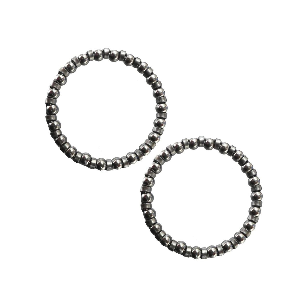 Caged Precision Bearings 5/32 Oversize A-Head)  (2 Pack)