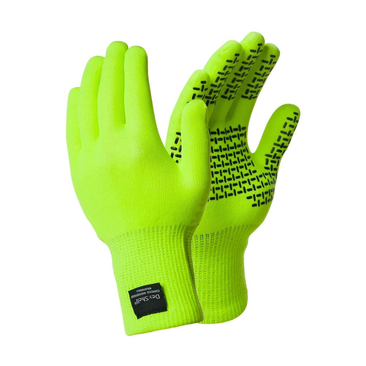 Dexshell Touchfit Waterproof & Breathable Gloves (Hi-Vis, Large)