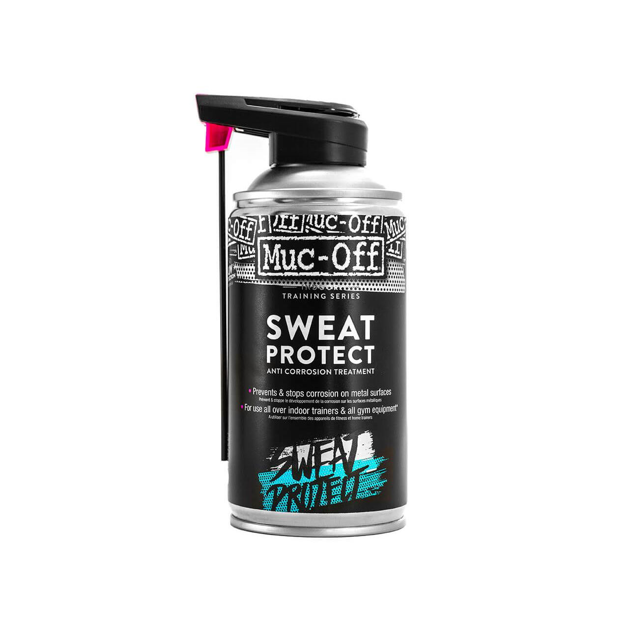 Muc-Off Sweat Protect Anti-Corrosive Protection Spray for Indoor Bikes (300ml)