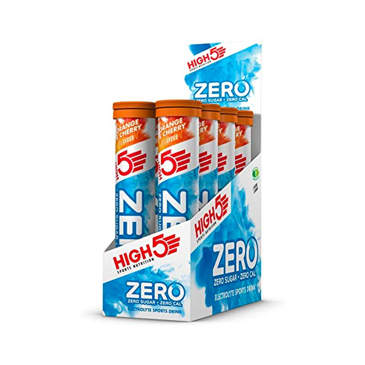 High 5 Zero Tabs, 18 Pack (Orange and Cherry)
